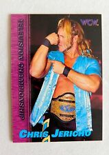 Chris Jericho WCW Wrestling Topps Trading Card CHAMPION Wrestler WWE WWF