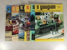 The S Gaugian Newsletter Magazine 1993-96 Mixed Lot 6 issues Model Trains T38-2