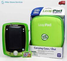 LeapFrog LeapPad 2 Tablet  Green Gel Skin,  New Protective Case, 9 Apps +Tangled