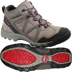 Wolverine Work Shoes Mens Terrain II ICS Mid-Cut Waterproof Hiking Boots W20260
