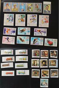 Fujeira mk#140-6 +148-57 +260-7 +515-8 + 536-41 five VF MNH complete sets (k198)