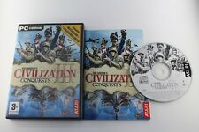 PC  CIVILIZATION CONQUERS III 3COMPLETO PAL ESPAÑA