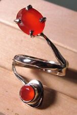 Carnelian Sterling Silver Natural Fine Jewellery