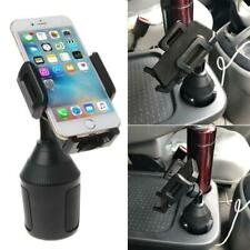 Universal Car Cup Holder Mobile Phone Mount with 360°Rotatable Cradle Stand