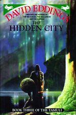 DAVID EDDINGS - THE HIDDEN CITY - 1ST H/B