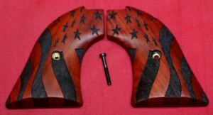 Heritage Arms Rough Rider Wood Grips .22 lr / .22 mag Star & Stripes RW