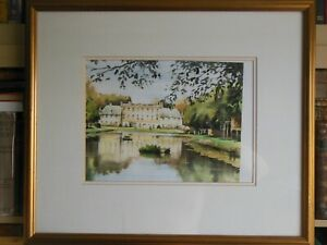 Michael Aubrey Signed and Limited 250 Watercolour Print - Framed & Glazed