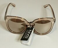 NYS COLLECTION SUNGLASSES Style 4650 Brown Mirrored Polarized