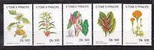 Sao Tome and Principe : Flowers 1993 ( 5 v. ) 1993 MNH