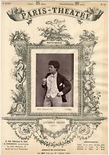 Lemercier, Paris-Théâtre, Joséphine-Marie-Marthe Laurent, dite Laurence Grivot (