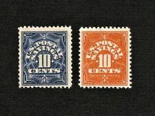 PS1-PS4 10c Pair Postal Savings Stamps Unused NG