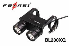 Ferei LED Bicycle Light with quick release BL200XQ Cool White Beam