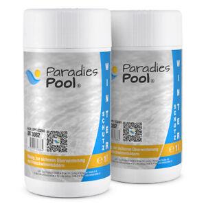 Paradies Pool Winterschutz 2 Liter Wintermittel Winterfest Überwinterung