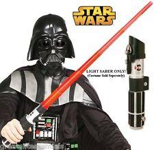 STAR WARS RED DARTH VADER LIGHTSABER Light Saber Anakin Jedi Costume LICENSED