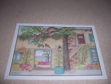1980s TALLY HO INN (JIMMY HATLO HOME) CARMEL CALIFORNIA VTG ART POSTCARD