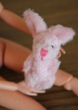 *020* Barbie Doll Size, Plush Bunny for Doll House, Decoration Miniature