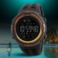 SKMEI Fashion Men's Smart Watch Bluetooth Digital Sports Wrist Watch Waterproof*