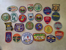 Lot of 25 Vintage Patches - Girl & Boy Scouts, Bowling, Disney