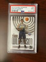 2019-20 Clearly Donruss Zion Williamson Rookie Special #ZW PSA 9 Mint SSP RC