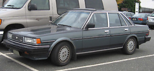 Toyota Cressida 1988-1993 Boot Lip Spoiler