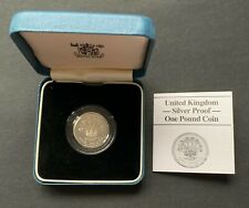 Great Britain - United Kingdom - 1986 - One Pound - Silver Proof- Royal Mint