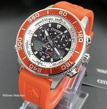 Citizen Promaster Eco-Drive Marine Yacht Chronograph Watch JR4061-18E Brand New