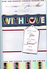GRANDAD FATHERS DAY LARGE CARD FANTASTIC QUALITY GREAT VERSES