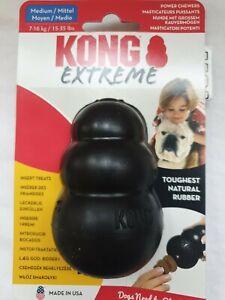 KONG Extreme Dog Toy Toughest Natural Rubber Medium