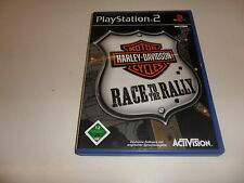 PLAYSTATION 2 PS 2 HARLEY DAVIDSON MOTOR CYCLES-race to the rally