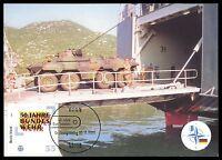 BUND MK 2005 BUNDESWEHR PANZER PRIVATE !! MAXIMUMKARTE MAXIMUM CARD MC CM cc84