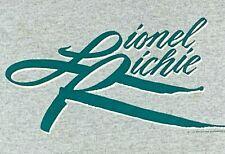 S * trashed vtg 80s 1983 Lionel Richie tour t shirt * 82.138