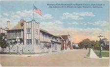 Monrovia,CA.Women's Club,Real Estate Advertising,San Gabriel Valley,c.1910