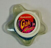 MATTEL NICKELODEON VTG 1992 GAK SPLAT BLUE SLIME EUROPEAN UNUSED BUT DRIED