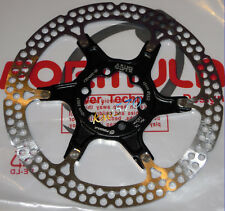 "Formula - One disk rotor 160mm/6"" model 2-piece BLACK spider 6 holes FD54022-00"
