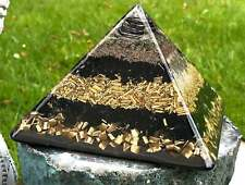 Orgone Orgonite® Pyramid - (5.25 x 4.25 inches) Powerful EMF Protector