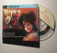 "Rare Encore Inline Mono 2 Track 7"" Reel Tape My Fair Lady Hollywood Radio City"