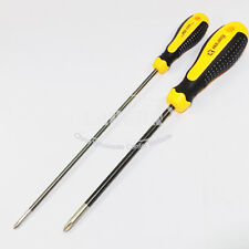 2pc/Set Cross CRV Tip Long Magnetic Screwdriver Philips Tool 6 x 150mm 4 x 200mm