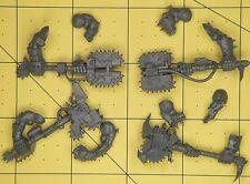 Warhammer 40K Space Orks Nobz Big Choppas