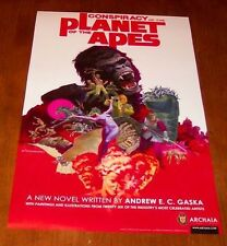 Conspiracy of the PLANET OF THE APES PROMO POSTER Jim Steranko NEW