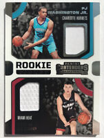 2019-20 Panini Contenders Tyler Herro Jersey Patch Rookie RC Dual Miami Heat🔥📈