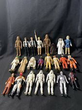 Large Lot of Star War Action Figures