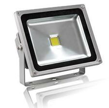 LED Flood Light Pure White Indoor & Outdoor 50W Direct attach to 220v AC