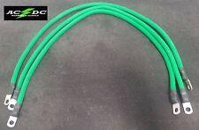 "Club Car Precedent Golf Cart -Battery Cable Set 2 GAUGE  (3 - 26"" GREEN)"