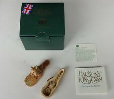Harmony Kingdom Leclair Mouse Playing Violin Sculpture Box 2002 Mib