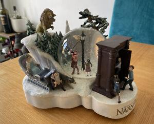 Rare Disney Store Narnia Snowglobe