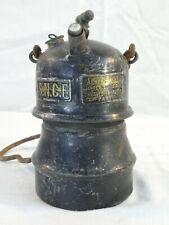 Ancienne LAMPE a carbure Albert BUTIN