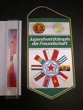 050115 banderín RDA fútbol DFV jugendwettkämpfe de la amistad