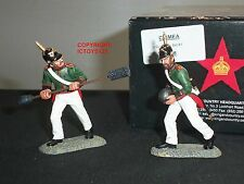KING AND COUNTRY CR18 CRIMEA RUSSIAN GUN CREW METAL TOY SOLDIER FIGURE SET 1