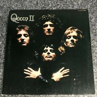 LP VINYL ALBUM QUEEN QUEEN II JAPANESE PRESS P-10119E  ELEKTRA EX/EX