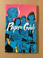 Paper Girls Vol 1 by Brian K. Vaughan Image 2016 TPB Graphic Novel